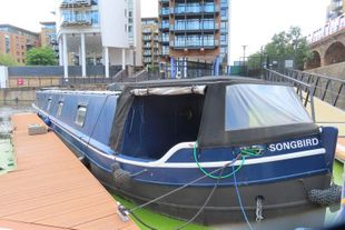 67' x 12' Widebeam Barge in London