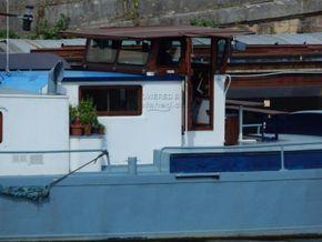 Luxemotor Dutch  Barge Practical cruising home - Coachroof/Wheelhouse