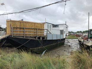 Unusual Houseboat