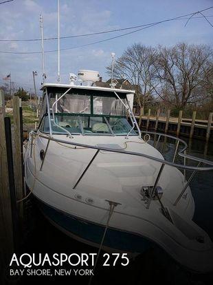 2001 Aquasport Explorer 275