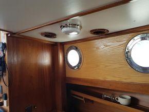 Interior above galley