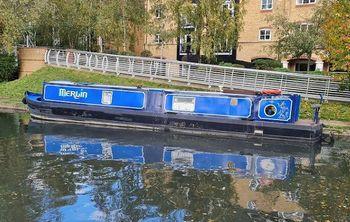 'Merlin' - Steel Trad Stern Narrowboat - 44'