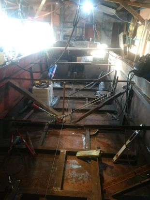 Narrowboat only hull in excellent condition