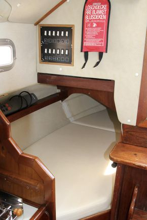 Starboard quarter berth