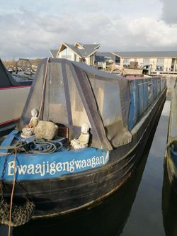 1991 Pat Buckle 60' narrow boat, engine requires attention