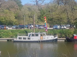 Mini Dutch Barge