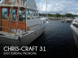 1970 Chris-Craft 31 Commander Sedan