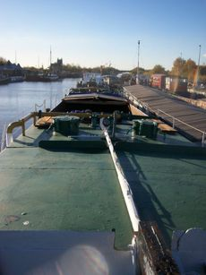 175ft Commercial Barge - last used for aggregates