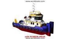 NEW LINE 16M PUSHER BOAT / TUGBOAT