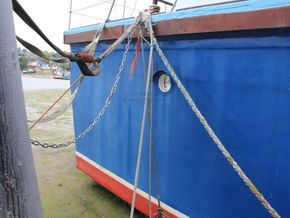 Houseboat purpose built 20m  - Stern