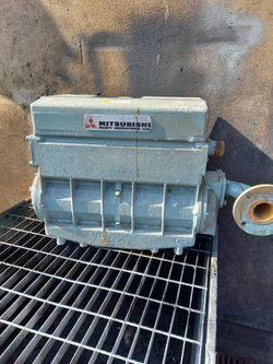Mitsubishi S12A heat exchanger/header tank