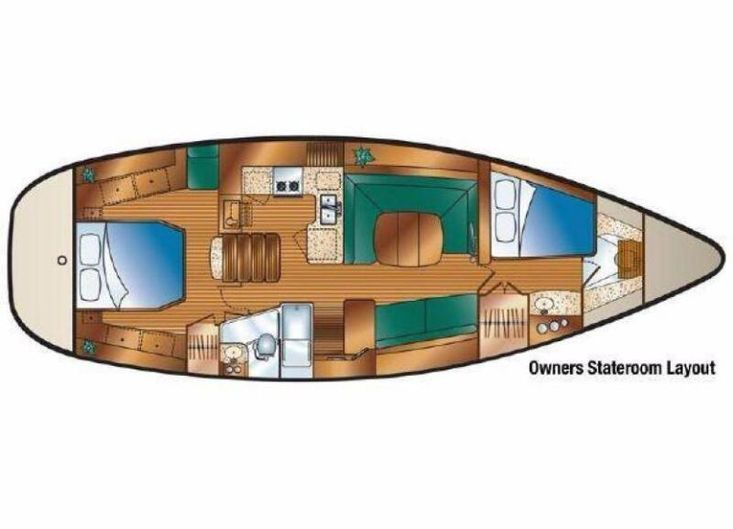 2012 Hunter Deck Salon