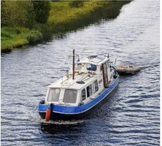 Historic Dutch barge