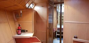 Forward cabin looking aft