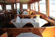 Sightseeing restaurant boat