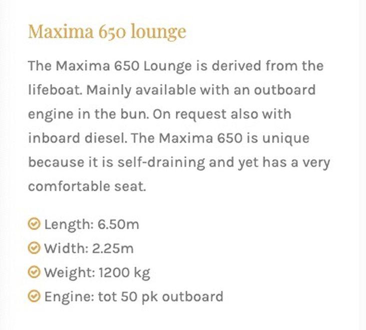 Maxima 650 Lounge