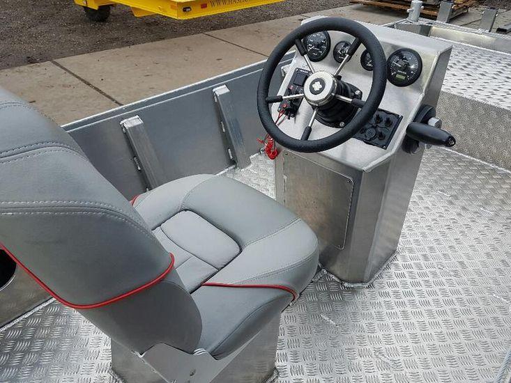New 5.00 meter Aluminium full option workboat
