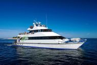 Fast alloy tourist catamaran. Capable up to 250 PAX