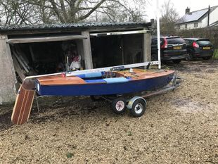 GBR 2101 Composite OK dinghy