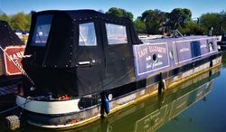 Lovely 45' cruiser stern with mooring option at Saul Junction Marina