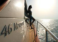 Starboard deck