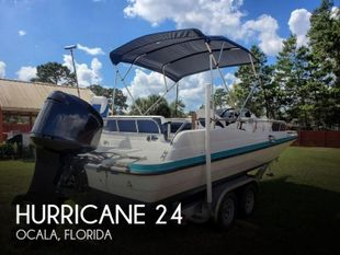 1995 Hurricane 24 Fun Deck