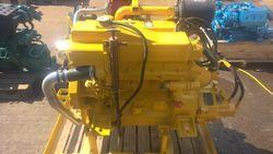 John Deere 4045 TFM Marine Diesel Engine Breaking For Spares