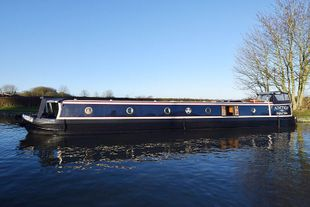 "Stunning 60'6"" Semi Trad 2004 Liverpool Boats"