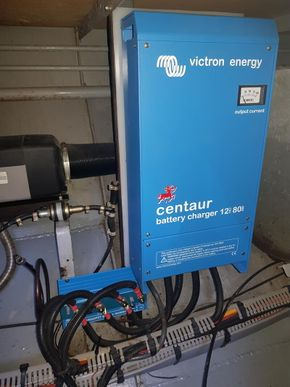 Victron 80 amp Battery charging system 2016
