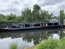 57 Cruser stern narrow boat