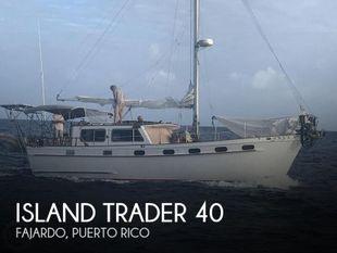 1985 Island Trader 40 Motorsailer