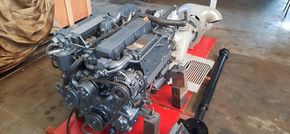 Yanmar rescue boat engine with jet