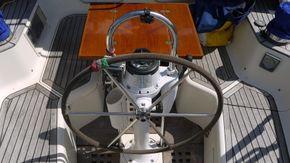 helm , binnacle and cockpit engine control