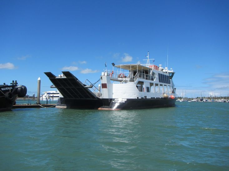 RO RO VEHICLE FERRY