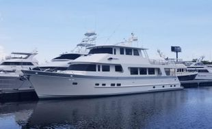 2018 Outer Reef Yachts 860 Deluxbridge Skylounge