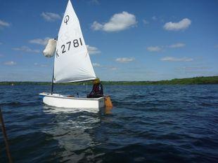 K2781- Tom's Tub - Fiberglass Optimist