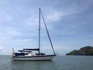 Targa 96 Yacht in Langkawi, Malaysia.