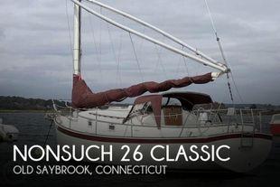 1983 Nonsuch 26 Classic