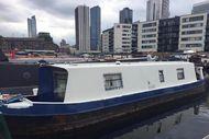 Canary Wharf London E14 - 31 Ft Narrowboat - Aqua Vista Poplar Dock
