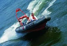 Avon SR5.4M Searider Offshore Oil