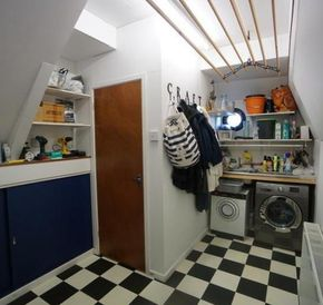 Pantry and Utility Room.