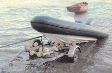 Admiral Rollaunch 500 Trailer