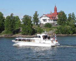 Aluminium passenger boat