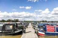 50ft Widebeam Moorings at Tattenhall Marina