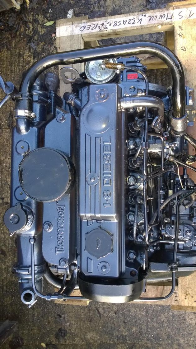 Ford 1800XLD / Thornycroft T110 56hp Marine Diesel Engine