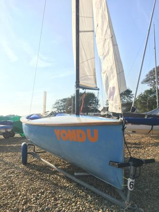 Firefly Sailing Dinghy F3537