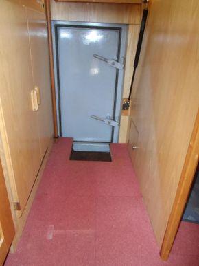 Watertight door to engine room
