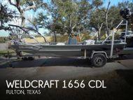 1997 Weldcraft 1656 CDL