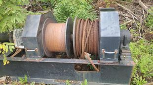 5 Drum Timberland Mechanical Winch