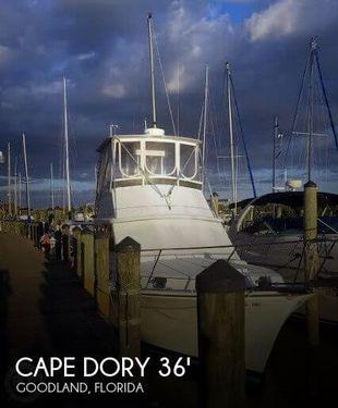 1988 Cape Dory Offshore 36 Flybridge Cruiser
